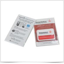 Microfiber Mobile Phone Screen Cleaner Microfiber Sticker