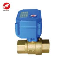 La válvula de control de flujo eléctrica automática más vendida hidráulica