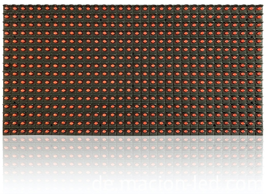 single red color led display