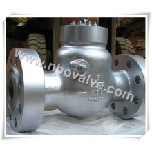 """6"""" Class 2500lb Short Delivery A105n Flanged Check Valve"""