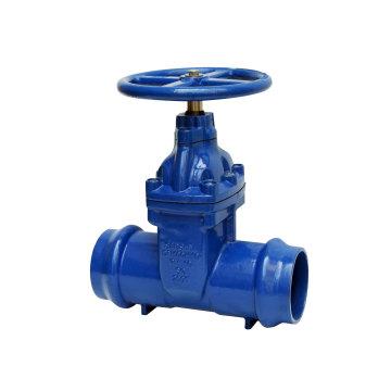 Utilisé pour le robinet-vanne résilient à douille de tuyau en PVC
