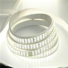 110V 220V 5050 2835 SMD 180LEDs por m Blanco cálido Doble fila LED Flex Strip