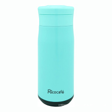 Sky Blue Stainless Steel Vacuum Sports Bottle
