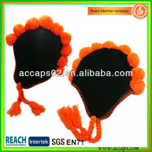 Crazy tricotados sombreros de invierno para la promoción del partido BN-0141