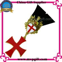 Kundenspezifische Metallmedaille für religiöses Geschenk