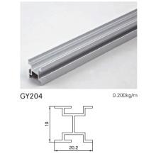 Perfil de aluminio para el armario casero