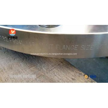 """Brida para junta abatible ASTM A182 F904L 12 """"150 #"""