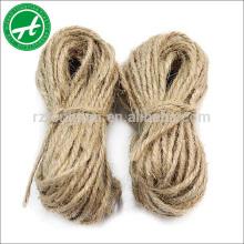 Corde de jute de corde de chanvre naturel de haute qualité de 3-50mm pour la vente chaude