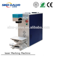 10w 20w desktop fiber laser marking machine