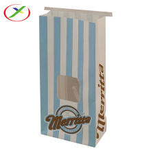 kraft paper open window paper bag