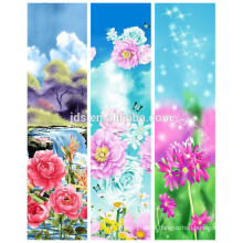 100%polyester printed brushed fabric for bedsheets