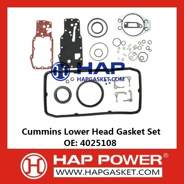 CUMMINS Lower Head Gasket Set 4025108