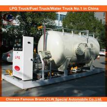 Cilindro de gás de cozimento 5m3 / 2ton Pequena estação de enchimento de GPL
