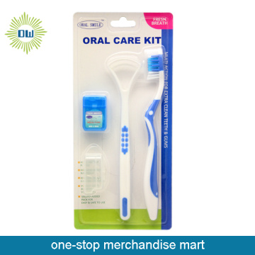 Travel oral care kit