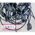 SLT-300 E27 base suspensa soquete café corda luzes jardim ao ar livre lâmpada luzes string