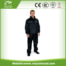 Men Polyester Waterproof Breathable Rain Suit