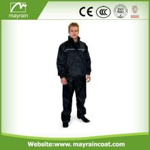 Männer-Polyester-wasserdichte Breathable Regen-Klage