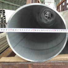Extruded Round Aluminium Pipe 6061, 6063