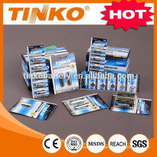 Super alkaline battery size D/LR20-2pcs/card