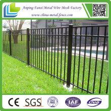 China Hersteller geliefert Billig Stahl Garten Zaun