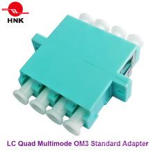 LC Quad Multimode Om3 Standard Kunststoff Faseroptik Adapter