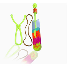Plastic Glowing Flying Arrow Toy With Whistle