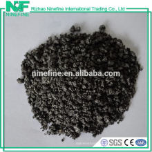 high sulphur(S<3%) calcined petrolum coke price with high quality
