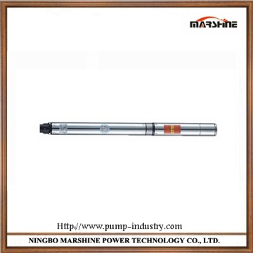 Vertical oil-filled stainless steel multi-stage water pump