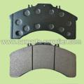 WVA29011 Тормозная накладка Iveco