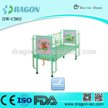 DW-CB02 Adjustable plastic cartoon children Bed for hospitals