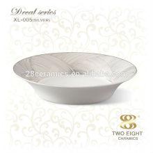 Platos de cena profundos placas de taco de cerámica placa de cena estera