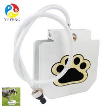 2017 actualización más nuevo pie paso fuente de agua para mascotas al aire libre fuentes de agua para mascotas automático para mascotas gato de perro dispensador de agua