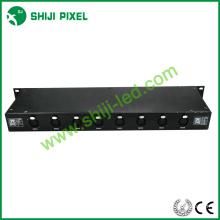2016 Nueva gran capacidad dmx 512 rail interruptor LED controlador
