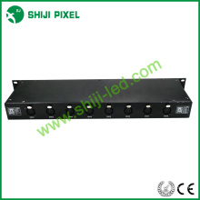 2016 Nova enorme capacidade dmx 512 rail switch LED controller