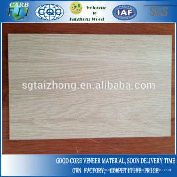 3mm Natural White Oak Laminated MDF