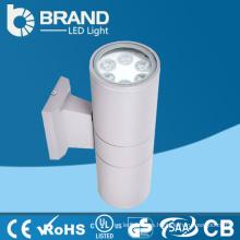 CE RoHS Aprobado RGB al aire libre arriba y abajo de la luz LED paquete de pared