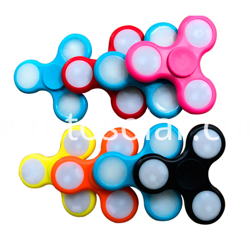 plastic mini color spinning tops
