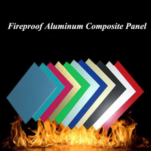 Fire Resistant Aluminum Composite Panel with B1 Class