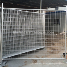 2017 movable welded temporary construction fence panel/Australia galvanized temporary wire panel