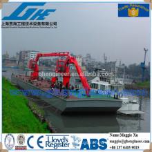 Grue à nouilles plate-forme hydraulique grue navale marine
