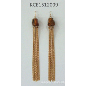 Metal Earring with Tassel Fashion Jewellery
