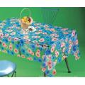 Transparent PVC Printed Tablecloths Wholesale