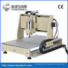 Máquina de perfuração de gravura roteador CNC para cobre metálico