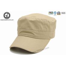 Kundenspezifische kühle preiswerte Armee-Hut-Jungen-flache Militärkappe