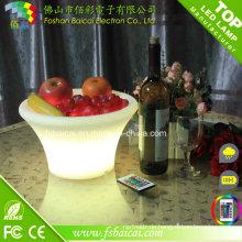 Favoriten Vergleichen Plastic LED Ice Bucket mit wiederaufladbarem Batteriebetrieb