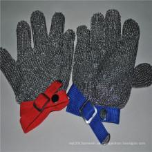 Cut Resistant Edelstahl Mesh Handschuhe zum Schutz