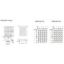 2.0 Inch, 5.0mm DOT (GNM-20571Ax-Bx)