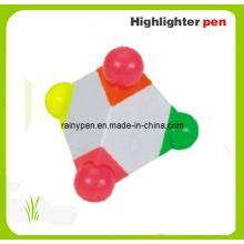 Stylo fluorescent pyramide, stylo cadeau (105)