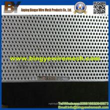 Metal perfurado de aço inoxidável usado em tetos falsos