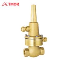 Bypass Réducteur de pression Pilot valve soupape de décharge cuivre laiton